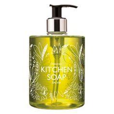 Herbal soap for the kitchen Scandinavian Home, Salvia, Soap Dispenser, Herbalism, Kitchen, Soap Dispenser Pump, Herbal Medicine, Cooking, Sage