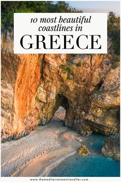 10 Most Beautiful Coastal Landscapes in Greece. Greece is home to some truly jaw-dropping coastal landscapes - the only trouble is deciding where to go. Here are 10 of the most spectacular and unspoiled coastlines in Greece not to miss. #greece #europe #coast #travel #europe #mediterranean #tmtb Top Travel Destinations, Europe Travel Tips, European Travel, Travel Guides, Travel Pics, Greece Itinerary, Greece Travel, Destin Beach, Greek Islands