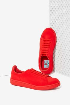 JC Play By Jeffrey Campbell Player Sneaker - Red - Flats | Jeffrey Campbell