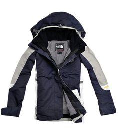 North Face Femme Bleue Grises Veste North Face Hoodie, North Face Jacket, North  Face a79c229de75