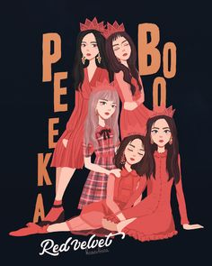 Red Velvet Fanart // credit to owner // this is so AMAZING