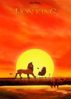 The Lion King. I'll be watching this with my grand-kids one day.