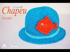 Chapéu em Crochê | Pescador | Passo a passo | Professora Simone - YouTube