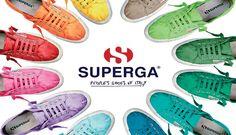 Scopri tutti i colori delle scarpe Superga!