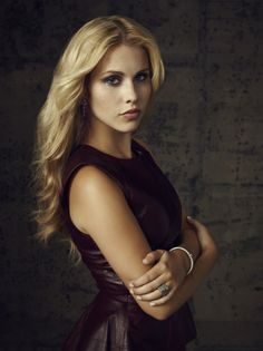 The Vampire Diaries -- Pictured: Claire Holt as Rebekah -- Image Number: VD4_Rebekah_Canvas_2084r.jpg -- Photo: Justin Stephens/The CW -- © 2013 The CW Network, LLC. All rights reserved.