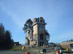 The Clock Tower house in Ferndale, WA