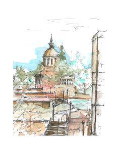Urban Sketchers around the world...