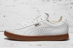 PUMA Court Star - Ostrich Leather White