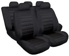 Schonbezüge Autositzbezüge Sitzbezüge für Hyundai i20 Modern Schwarz MG-1