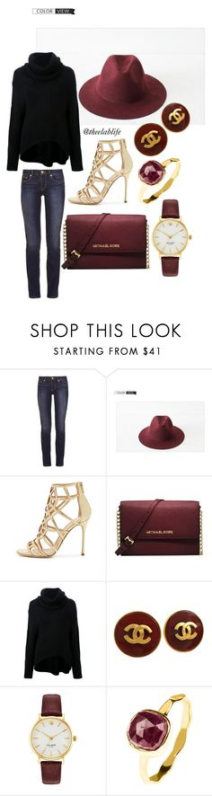 Untitled #8 by theelablife on Polyvore featuring Kitx, Tory Burch, Sergio Rossi, Michael Kors, Kate Spade, Chanel, Latelita and GLAM12