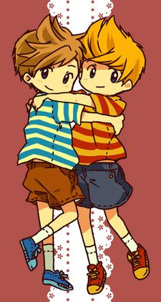"Luchas and Claus || owww :""3"