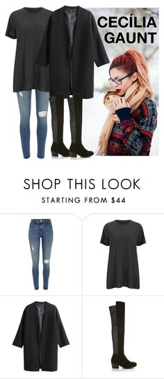 """Cecília Gaunt"" by beckypotter21 on Polyvore featuring moda, River Island, rag & bone, H&M e Miss Selfridge"