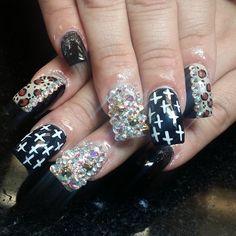happy mother's day  cool nail art fun nails nail art