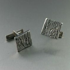 Sterling Silver Cufflinks with Soldered Cufflink Findings