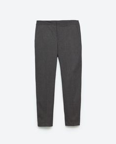 Image 8 of MID-RISE SKINNY TROUSERS from Zara