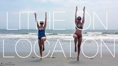 #LitheonLocation: Check out Lithe Mama Aubrey Hochstuhl (and baby Hochstuhl) and Allison Boris getting Twiggy in Brigantine, NJ.  They both couldn't make it through an entire week without getting their Lithe on.  I love this; So creative and kudos on the great form!  You ladies look awesome!