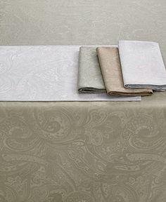 Lauren Ralph Lauren Table Linens, Suite Paisley Collection - Table Linens - Dining & Entertaining - Macy's