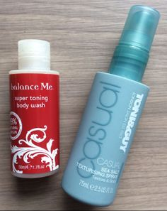 Glossybox Review – January 2014   Balance Me Super Toning Wash – 1.7 oz Value $7  Toni & Guy Sea Salt Texturizing Spray – 2.5 oz Value $5