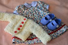 """Doll Clothes by Phoebe and Egg for her 23"""" dolls Cherries and Blueberries5.jpg"""