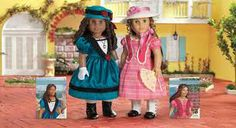 Marie-grace and Cecile dolls!