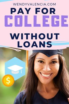 If you are here because you are looking at how you can pay for undergraduate school without loans, read on, while our story is about graduate school, the principles can be applied to undergraduate school as well. Plus I have super valuable spreadsheet that will help you immensely. #wendyvalencia #payingforcollegewithoutloans #payingforcollegeonyourown #payingforcollegeonyourown #payingforcollegeparents #howtopayforcollegewithoutloans #howtopayforcollegeonyourown School Loans, Student Loans, College Savings Plans, Money Plan, State School, First Job, Money Today, Going Back To School, Graduate School