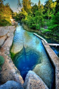 Sssshhh! You're going to fall in love with the otherworldly Jacob's Well, Texas. Click for USA's best kept secrets... #spon #adventure