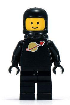 Lego Black Classic Spaceman