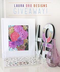 Laura Dro Designs Giveaway!