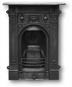 Late Victorian Fireplace Victorian Fireplace Suppliers UK - Reproduction Fireplaces, Mantels in Cast Iron and Wood