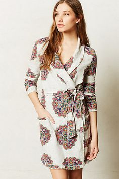 Sol Medallion Robe - anthropologie.com perfect bday present for Paige