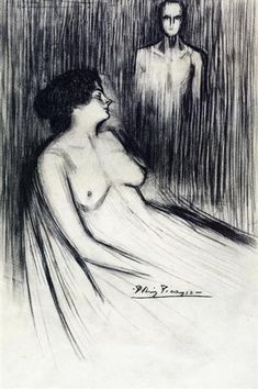 The cries of virgins, 1900 - Pablo Picasso