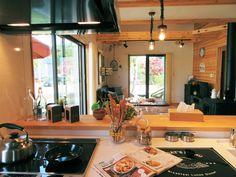 薪ストーブを囲む男前インテリアLOAFER Table, Furniture, Home Decor, Decoration Home, Room Decor, Tables, Home Furnishings, Home Interior Design, Desk