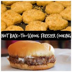 Gypsy Road: Freezer Cooking : Back-to-Home-School Lunch Basics...