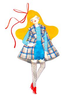 Wild about #Kristina's #illustrations and eye for #color, and style check out her blog #krisAtomic