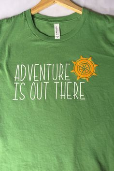 bf8d427e Adventure Is Out There / Adult T-Shirt / Adventure Shirt / Up Pixar,