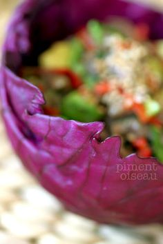 Salade de boeuf mariné au citron