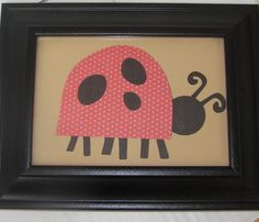 Goodies By Greiner: Ladybug, Ladybug Hang on My Wall great for your little ones ladybug themed room...or for you if you like ladybugs!