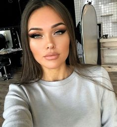 53 Elegant Natural Smoky Eyeshadow Makeup Ideas for Fall Party fashion # . , 53 Elegant Natural Smoky Eyeshadow Makeup Ideas for Fall Party fashion # fashion S. Makeup Trends, Makeup Inspo, Makeup Inspiration, Beauty Makeup, Hair Makeup, Sultry Makeup, Makeup Hacks, Makeup Blog, Beauty Trends