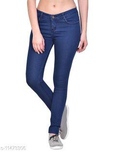 Jeans Navy Blue, Basic/Plain Silky Denim Jeans for Women/Ladies (NB3201_Nik n Vil) Fabric: Denim Multipack: 1 Sizes: 34 (Waist Size: 34 in Length Size: 39 in)  36 (Waist Size: 36 in Length Size: 38 in)  38 (Waist Size: 38 in Length Size: 37 in)  28 (Waist Size: 28 in Length Size: 39 in)  40 (Waist Size: 40 in Length Size: 37 in)  30 (Waist Size: 30 in Length Size: 39 in)  42 (Waist Size: 42 in Length Size: 36 in)  32 (Waist Size: 32 in Length Size: 39 in)  Country of Origin: India Sizes Available: 28, 30, 32, 34, 36, 38, 40, 42   Catalog Rating: ★4.1 (470)  Catalog Name: Trendy Elegant Women Jeans CatalogID_2156010 C79-SC1032 Code: 134-11473306-1701