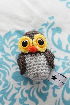 Owl Amigurumi - FREE Crochet Pattern and Tutorial