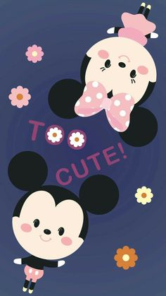 Wallpaper Whatsapp Android Cartoon Ideas For 2019 Tsum Tsum Wallpaper, Mickey Mouse Wallpaper Iphone, Cute Disney Wallpaper, Trendy Wallpaper, Cute Cartoon Wallpapers, Iphone Wallpaper, Disney Background, Tsumtsum, Mickey And Friends
