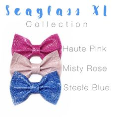 Bright XL ELLIE BOWS!! Fun for girls of all ages ! Headbands or clips! Www.coastalbowcompany.com