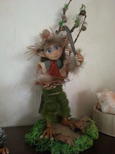 medio elfo in porcellana fredda