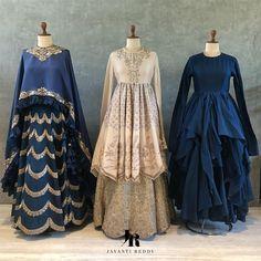 Dresses - Jayanti Reddy Designer Contact jayantireddyofficial com Indian Dress Up, Indian Gowns Dresses, Indian Attire, Pakistani Dresses, Indian Outfits, Shadi Dresses, Bridal Dresses, Lehnga Dress, Lehenga