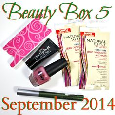 BEAUTY BOX 5 Photos, Swatches & Review – September 2014