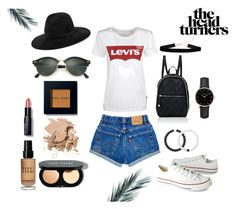 """Summer Outfit // Levis Inspiration"" by peltomakipauliina on Polyvore featuring Levi's, rag & bone, Ray-Ban, Converse, Bobbi Brown Cosmetics, STELLA McCARTNEY, Lokai and ROSEFIELD"