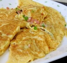 Bell Pepper Ham Cheesy Omelet (Atkins Diet Phase 1 Recipe) | Diet Plan 101