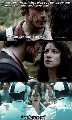 Review and Screencaps: 'Outlander' Episode 1X01 'Sassenach'!  I think we ALL wanted to volunteer! Ep1