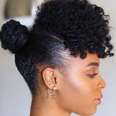 modele de coiffure avec cheveux crepus