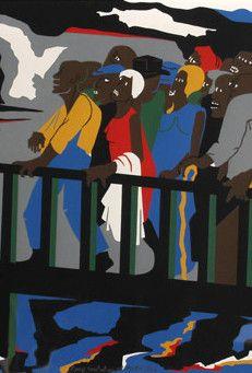 Lawrence, Jacob, (Confrontation at the Bridge) - SHOP BAIA ONLINE™